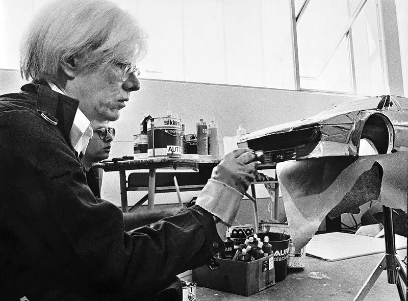 Andy Warhol und sein BMW M1 Art Car, 1979