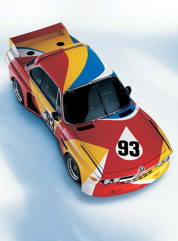 BMW 3.0 CSL Art Car von Alexander Calder aus dem Jahr 1975