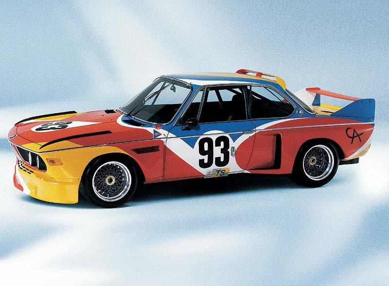 BMW 3.0 CSL Art Car von Alexander Candel aus dem Jahr 1975