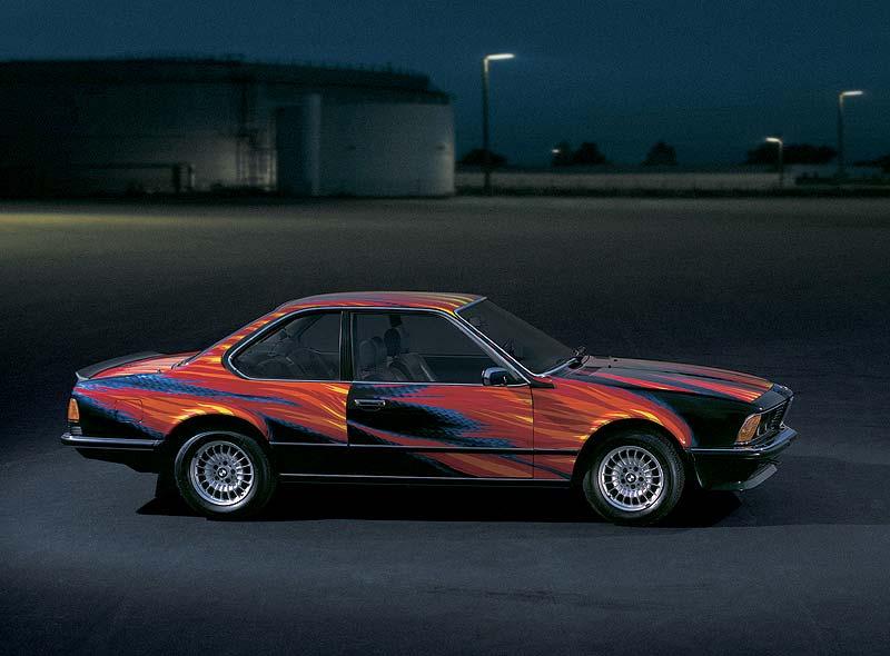 BMW 635 CSi, Art Car von Ernst Fuchs, 1982
