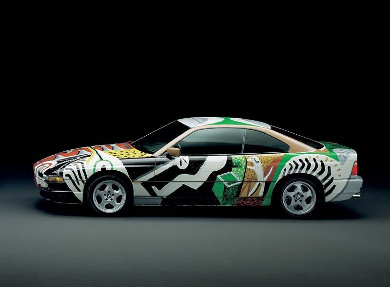 David Hockney, Art Car, 1995 - BMW 850 CSi