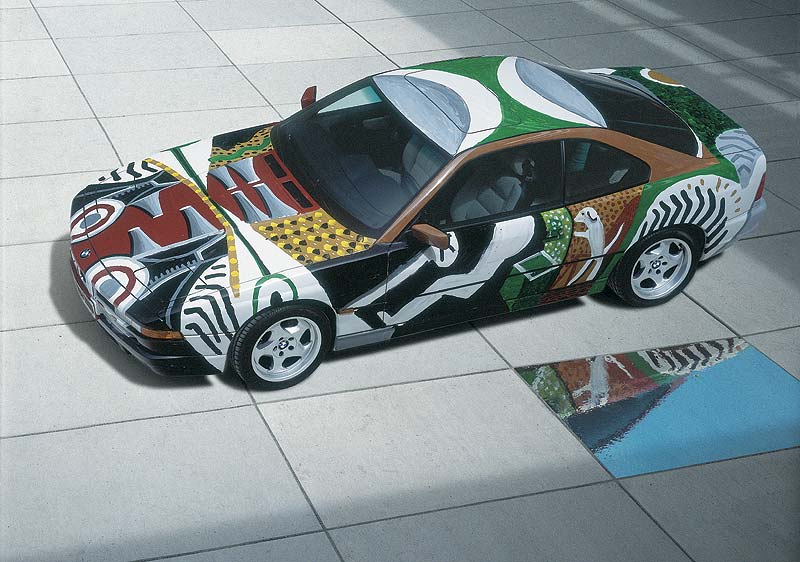 David Hockney, Art Car, 1995 - BMW 850 CSi