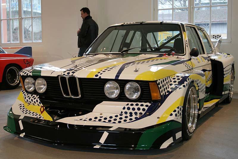 BMW 320i Gruppe 5 Rennversion, Art Car in Kassel