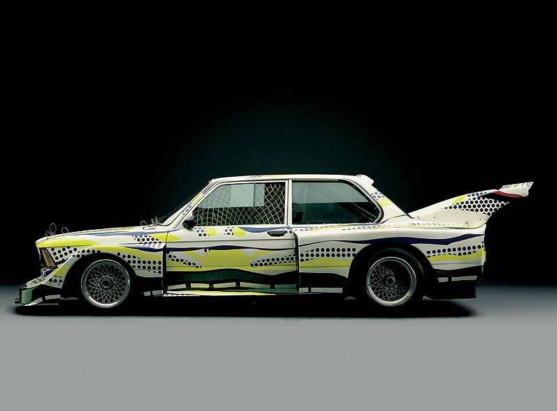 BMW 320i Gruppe 5 Rennversion, Art Car von Roy Lichtenstein