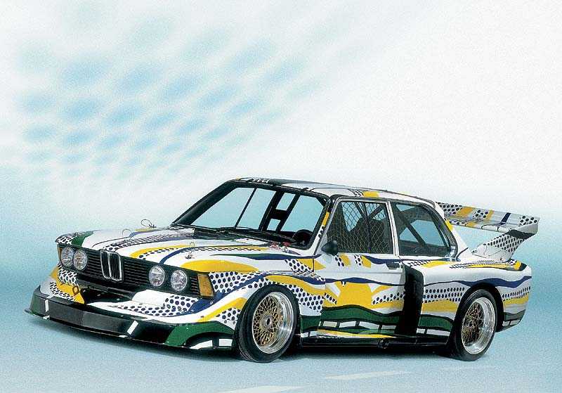 BMW 320i Gruppe 5 Rennversion, Art Car von Roy Lichtenstein