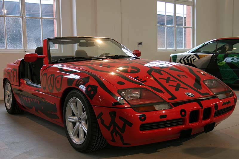 A. R. Penck, Art Car, 1991 - BMW Z1 in Kassel
