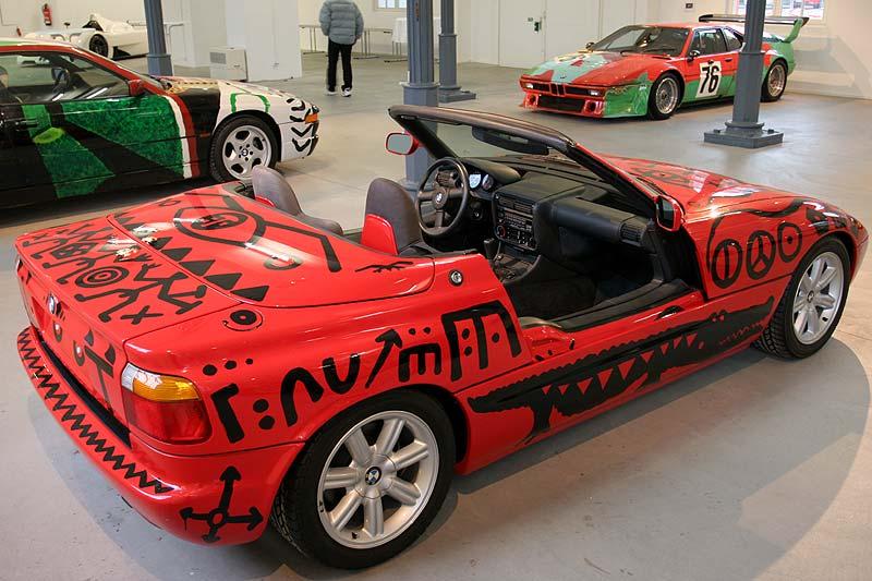 A. R. Penck, Art Car, 1991 - BMW Z1 in Kassel