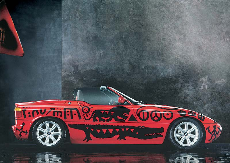 A. R. Penck, Art Car, 1991 - BMW Z1
