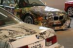 BMW 635 CSi und BMW 3er Art Car in der AUTO-NOM-MOBILE Kassel