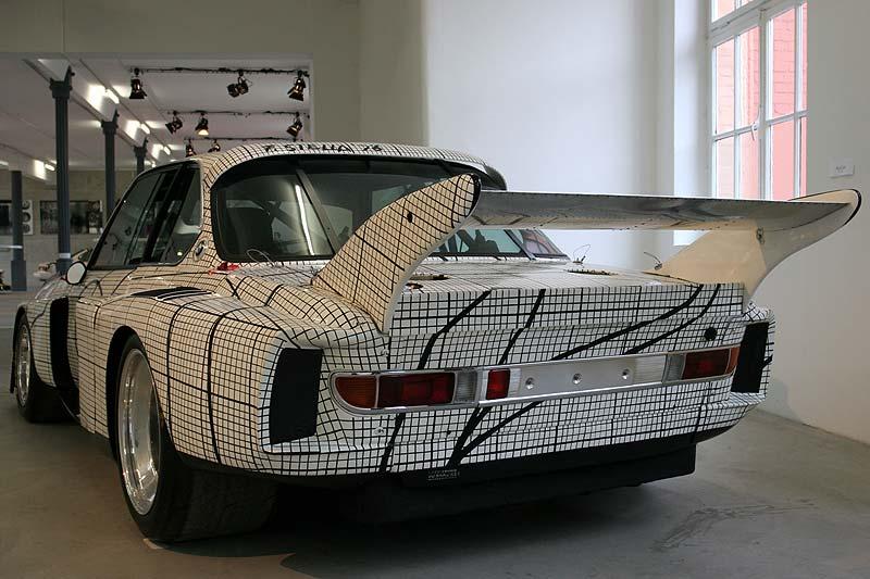 BMW 3,0 CSL Art Car auf der AUTO-NOM-MOBILE in Kassel 2006
