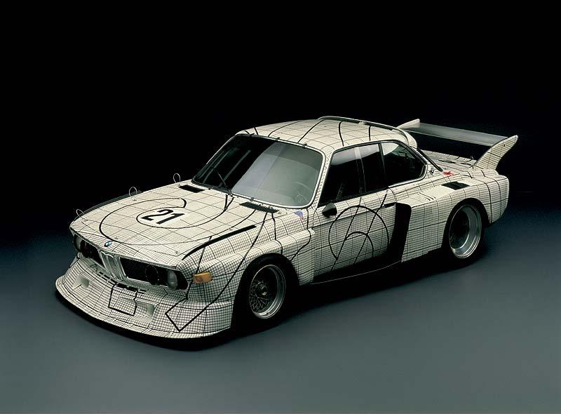BMW 3.0 CSL Art Car von Frank Stella aus dem Jahr 1976