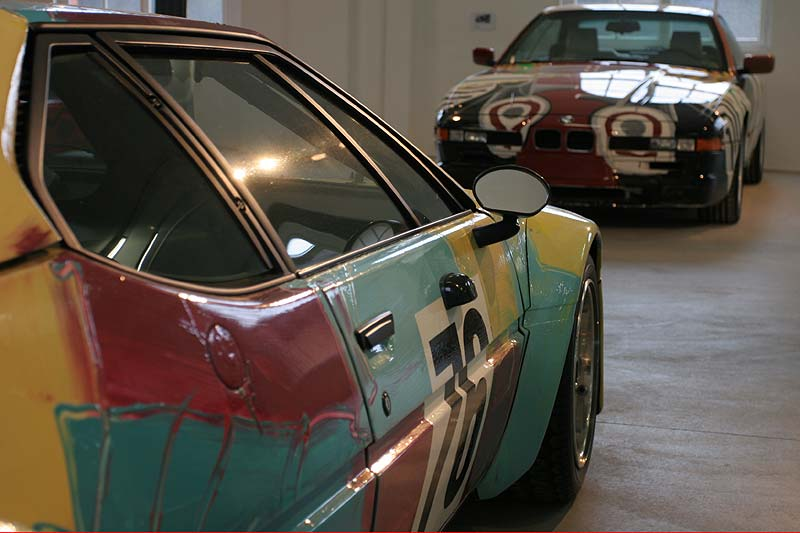 BMW M1, Art Car von Andy Warhol in Kassel