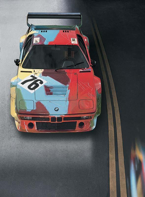 BMW M1 Gruppe 4 Rennversion, Art Car von Andy Warhol, 1979