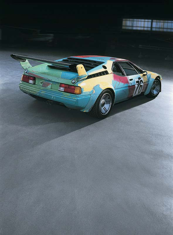 BMW M1 Gruppe 4 Rennversion, Art Car von Andy Warhol, 1979