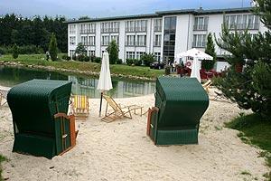 """4-Sterne-Hotel """"Esplanade"""" mit künstlichem See und Sandstrand"""