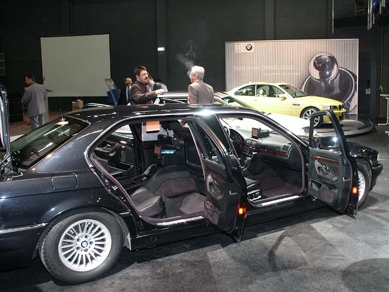 Präsentation des BMW L7 bei BMW