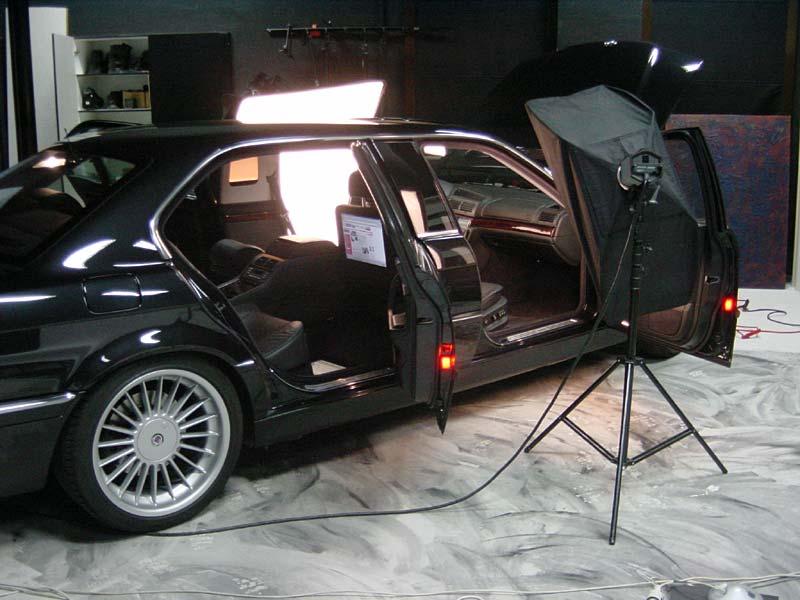 Foto-Shooting mit dem BMW L7 von Martin Lemke