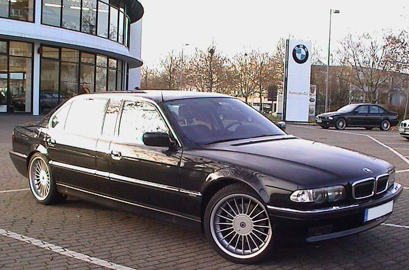 Der L7 bei der Abholung beim BMW-Händler