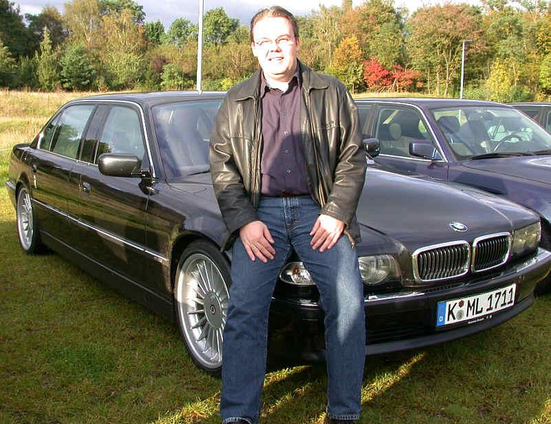 Martin Lemke und sein BMW L7