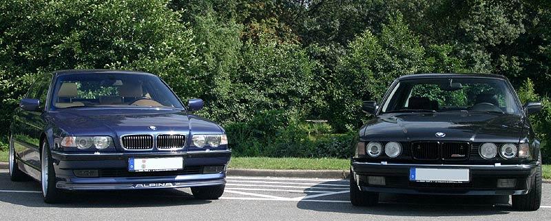 Die BMW Alpinas B12 6.0 L (E38) und B12 5.0 (E32)