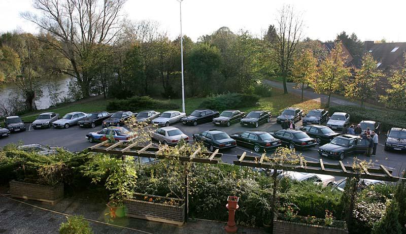 BMW 7er-Parkplatz in Moers