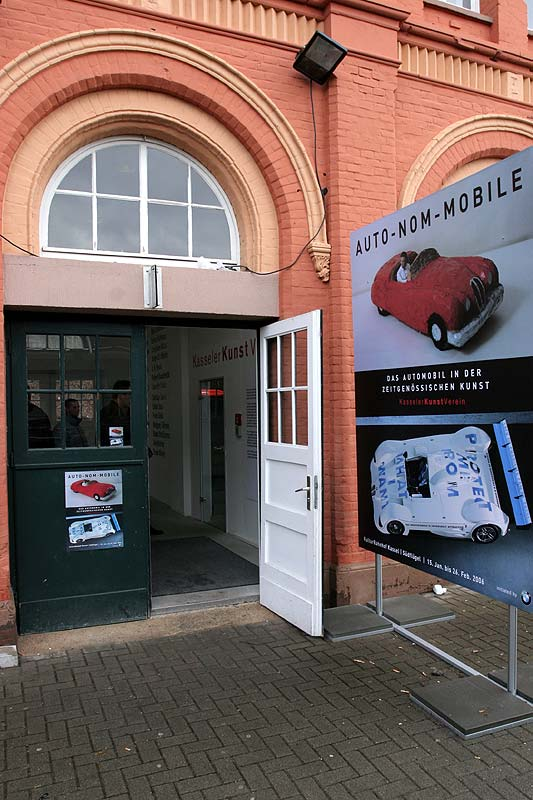 Eingang zum Kulturbahnhof Kassel