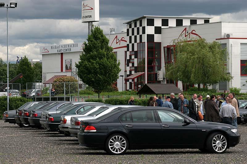 7er-Schotter-Parkplatz am Michael Schumacher Kartcenter in Kerpen