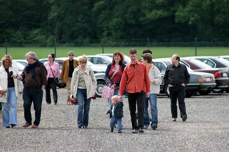 BMW 7er Parkplatz in Kerpen