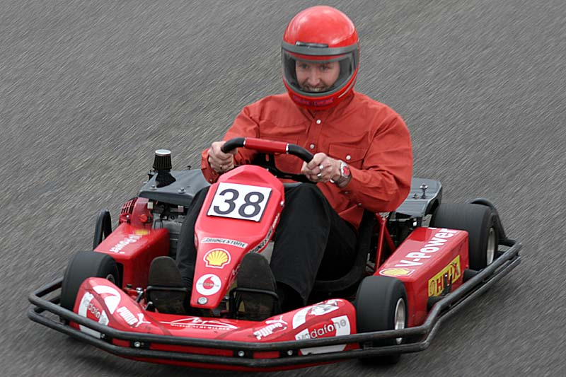 "Alexander ""Highliner"" im Kart"