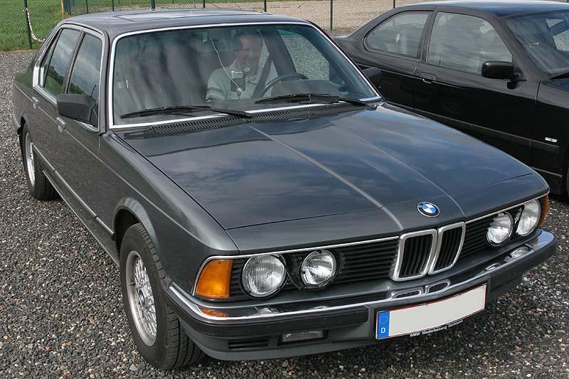 """Heinz-Peter (""""Turbopeter"""") in seinem BMW E23"""