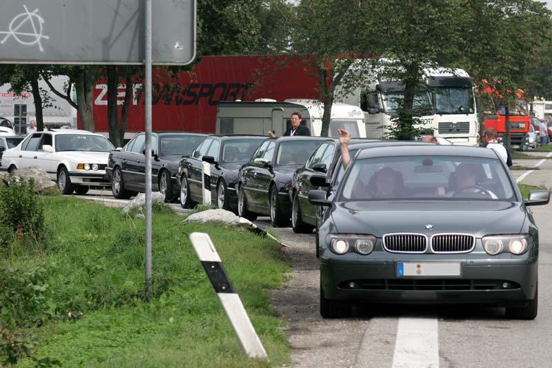 Tag 1: Sternfahrt-Konvoi nach Porec in Kroatien