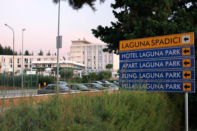 Hotel Laguna Park im Stadtteil Spacici in Porec