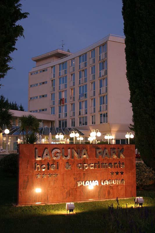 Eingangsschild Hotel Laguna Park