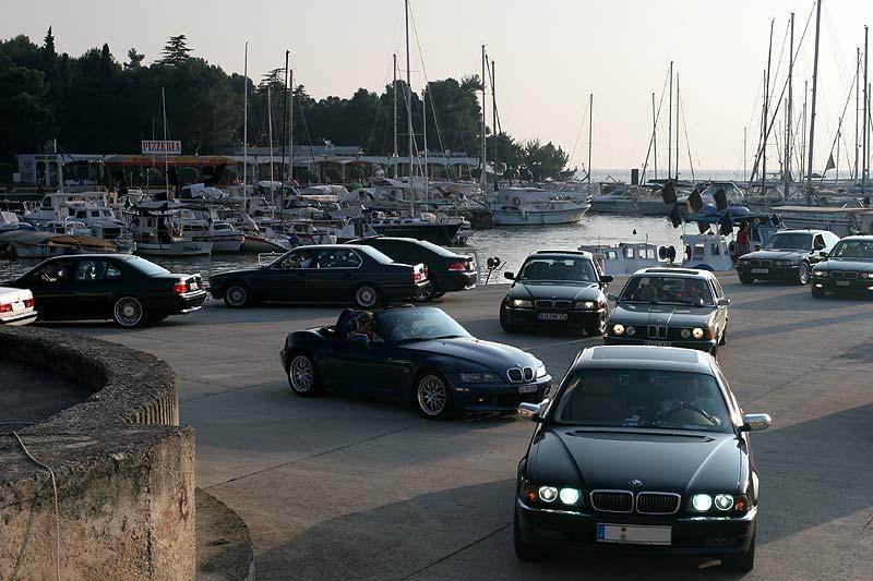 Nach dem Foto-Shooting im alten Hafen in Porec