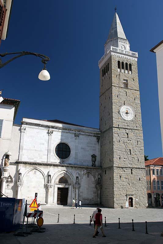 Foto Kathedrale Des Heiligen Nazarius In Koper Slowenien