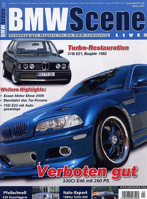 BMW Scene Titel 02.2007 inkl. Bericht über die 7-forum.com Sternfahrt