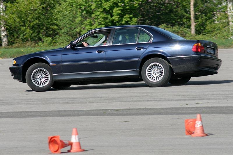 "Michael (""LPG728"") in seinem BMW 728i (E38)"