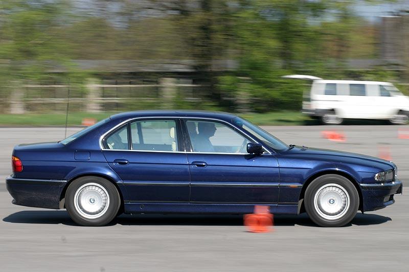 7er-E38 beim Fahrertraining