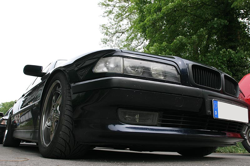 getunter BMW 730i (E38) von Oliver, Front-Ansicht