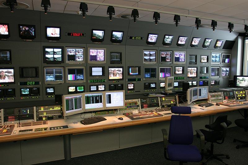 Sendeabwicklungsraum bei RTL