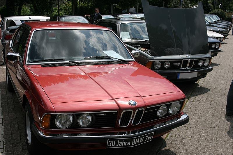 """ein Highlight des Tages: die """"Blechnase"""" BMW 730 (Modell E23) von Carlos Plachetta (""""Turbofan"""")"""