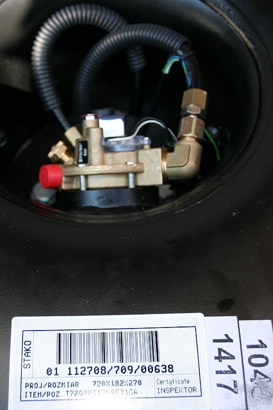 88-Liter-Gastank