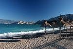 Strand von Baska, Kvarner Bucht, Kroatien
