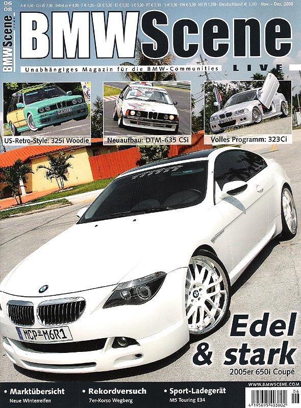BMW Scene Titel 06.2008