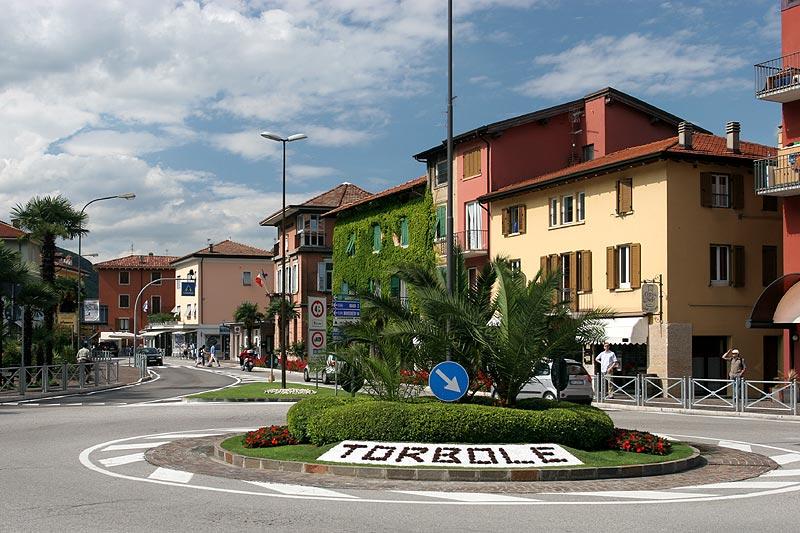 Innenstadt von Torbole am Gardasee