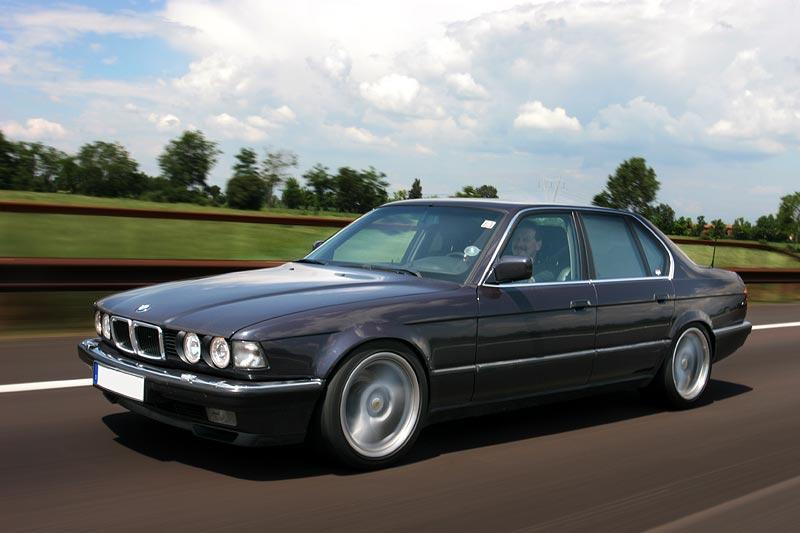 BMW 740i E32 Von Michael Machti Auf Dem Weg In
