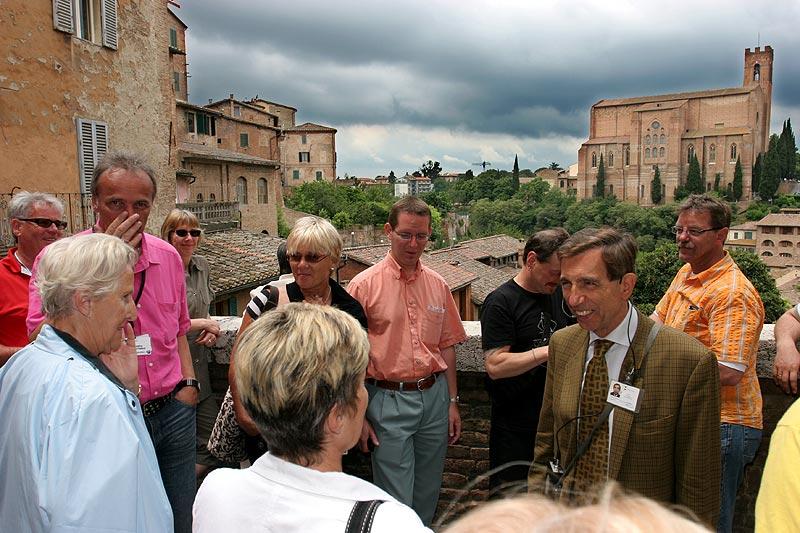 Am sechsten Sternfahrt-Tag wurde Siena besucht