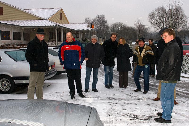 auf dem Stammtisch-Parkplatz in Castrop-Rauxel