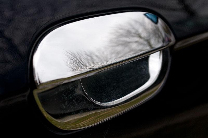 verchromte Außentürgriffe am BMW 735i von Giray