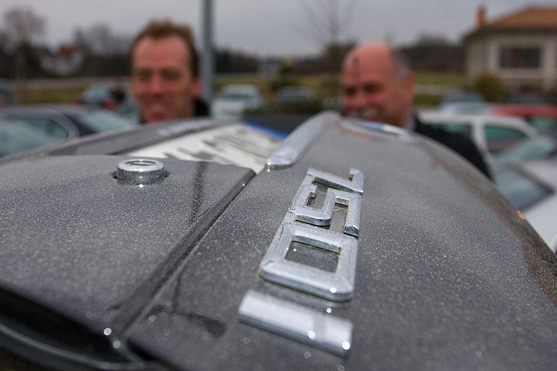 """Die Heckklappe vom BMW 750i von Jörg (""""GSX-Heizer"""")"""